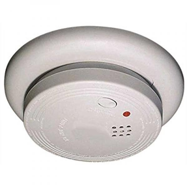 Universal Security Instruments 1204 Wire-In Smoke Alarm with Battery Backup