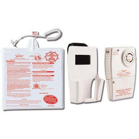 Secure Chair Exit Alarm Set For Fall Management / Prevention - Wheelchair or Chair Alarm Set For Fall Risk Patients - One Year