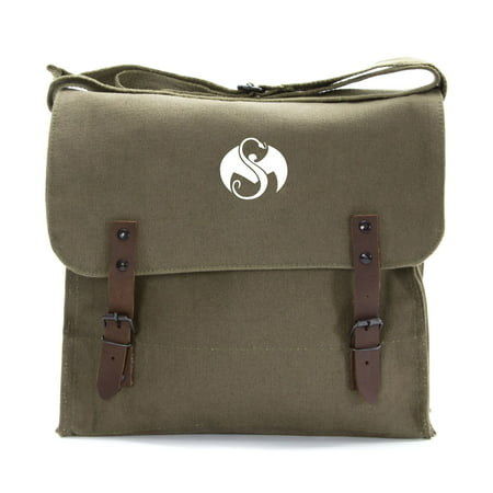 Strange Music Band Logo Army Heavyweight Canvas Medic Shoulder Bag