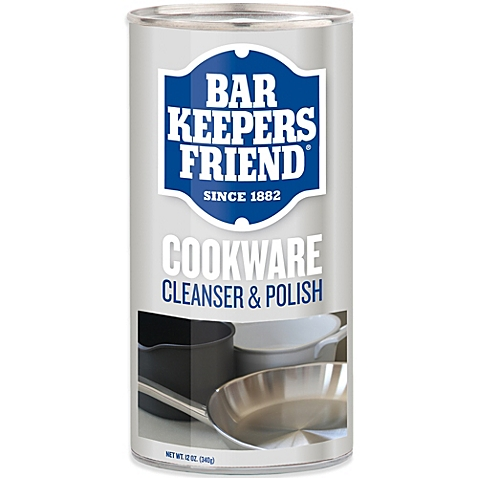 Bar Keepers Friend Cookware Powder Cleanser and Polish, 340 g