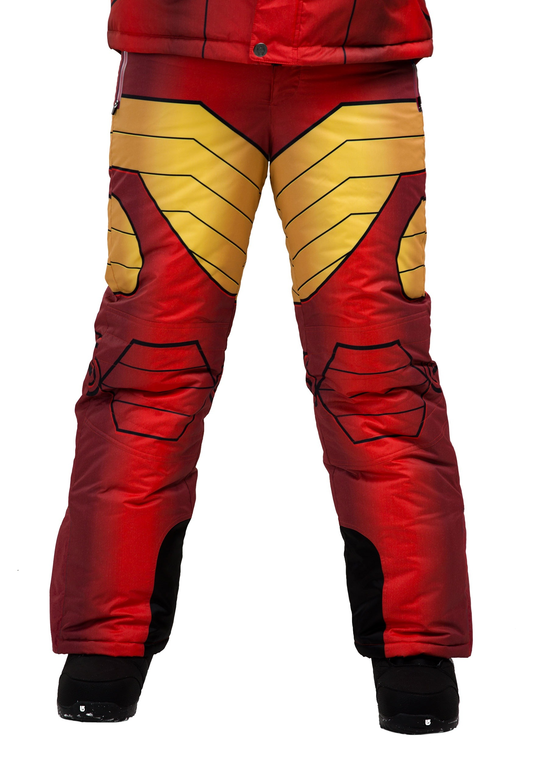 Kids Iron Man Snow Pants