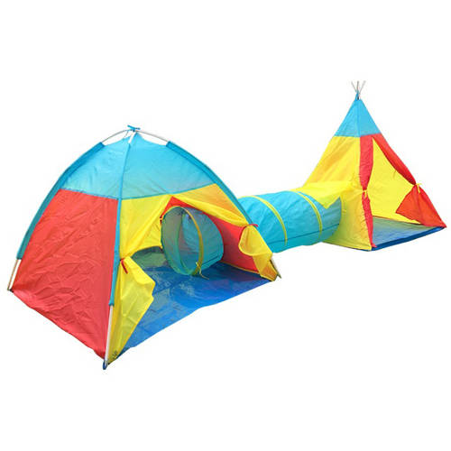 Kayata Tunnel Children's Fun Playhouse Tent with Two Tents