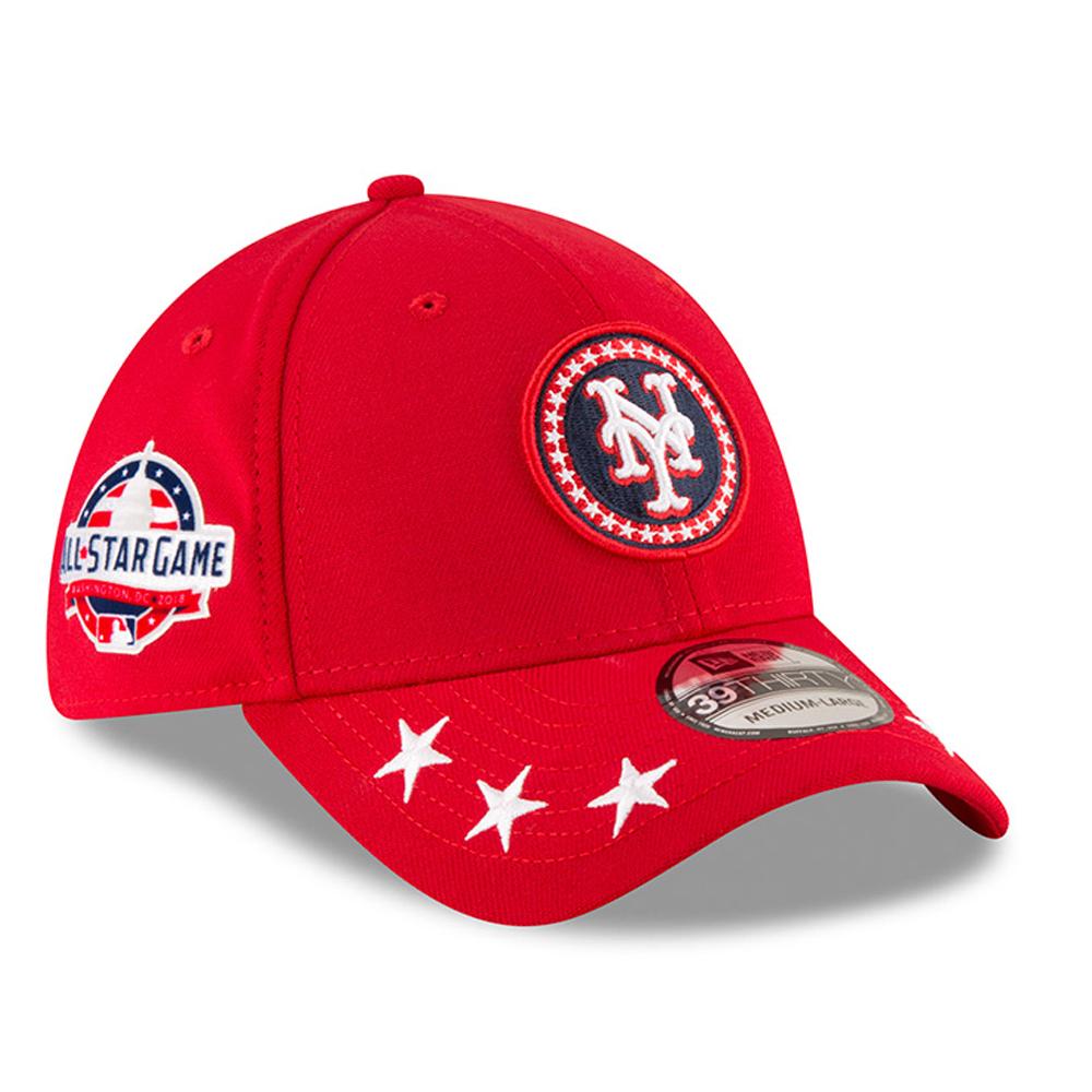 New York Mets New Era 2018 MLB All-Star Workout 39THIRTY Flex Hat - Red