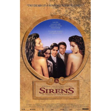 Sirens POSTER Movie C Mini Promo
