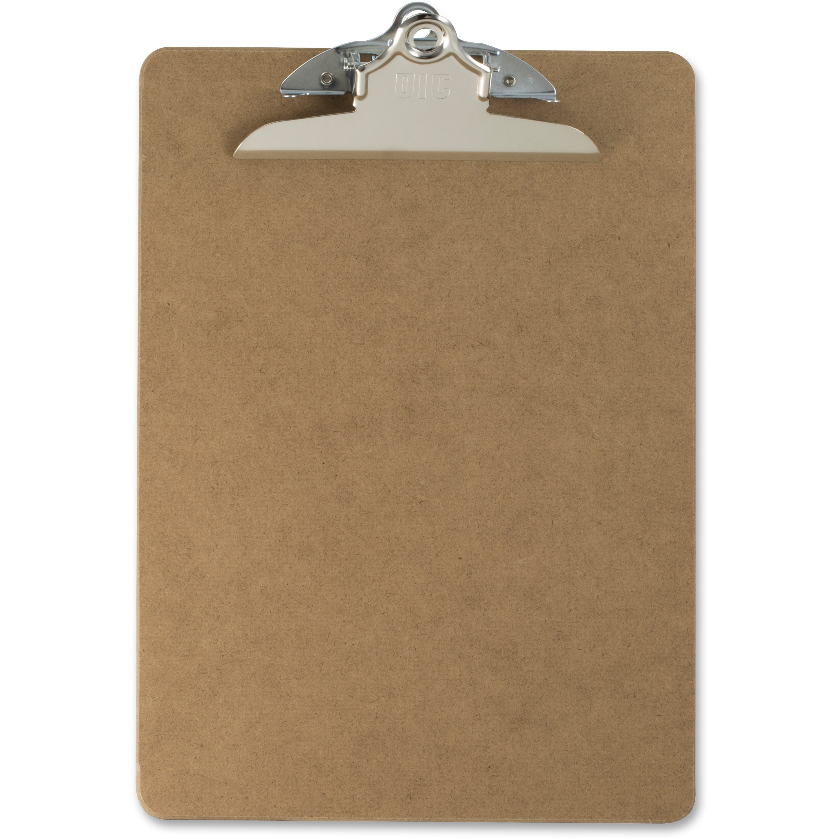 (4 Pack) OIC Hardboard Clipboards