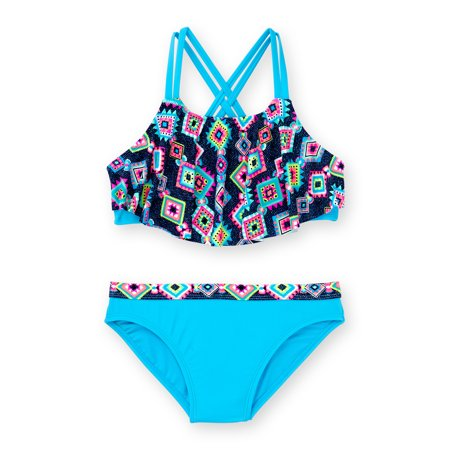 Girls' Phoenix Print Fashion - Big Bikini