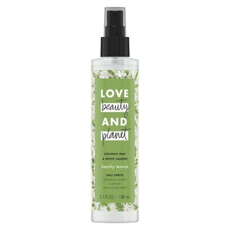 Love Beauty And Planet Beachy Texture Salt Spray Coconut Milk & White Jasmine 6.7