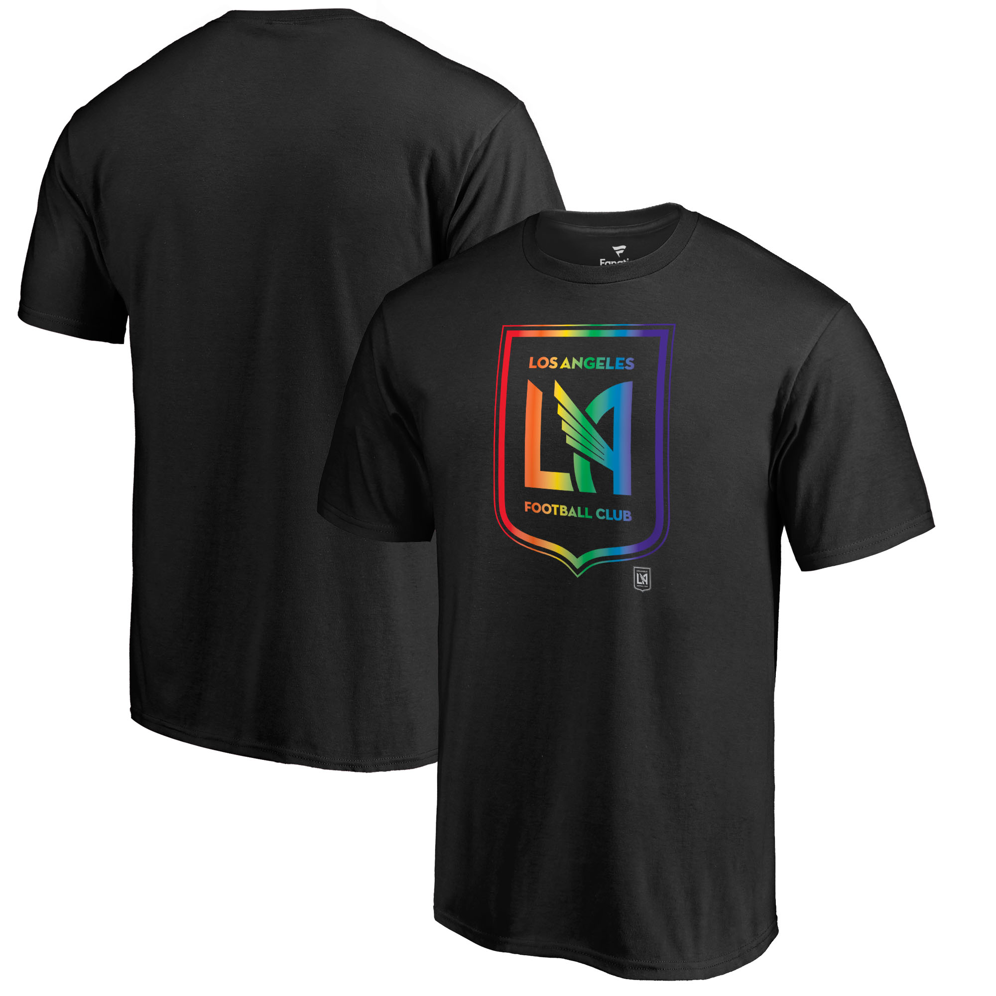 LAFC Fanatics Branded Team Pride T-Shirt - Black