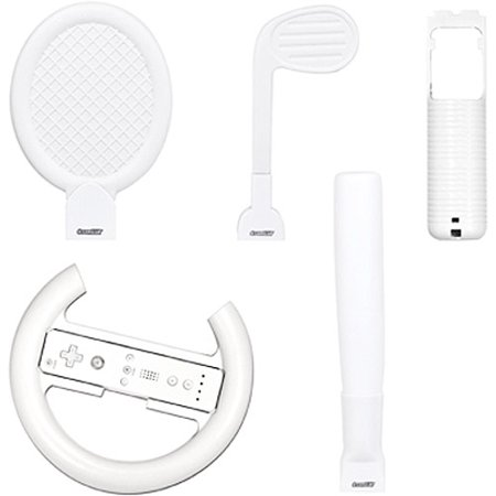 Dreamgear DGWII-1058 Play and Drive Soft Sports Kit for Nintendo Wii Nintendo Wii Drive Key Wii