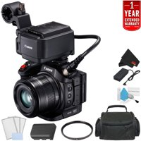 Canon XC15 4K Professional Camcorder Bundle with 1 Year Extended Warranty