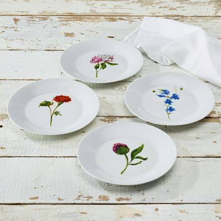 Country Garden Round Porcelain 8