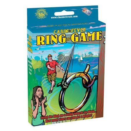 Donut On A String Game (Channel Craft Cabin Fever Ring on a String)