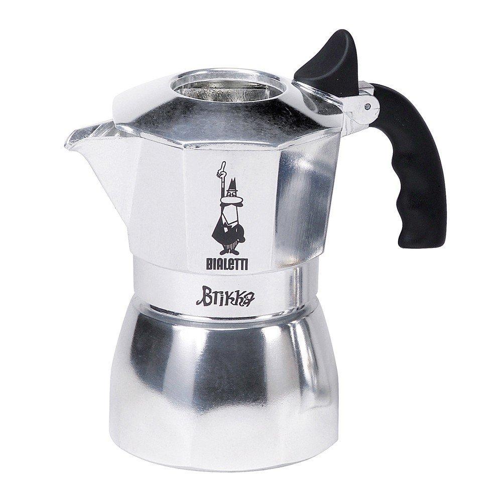 Bialetti 2 Cup Brikka Espresso Maker - Aluminum Stovetop ...