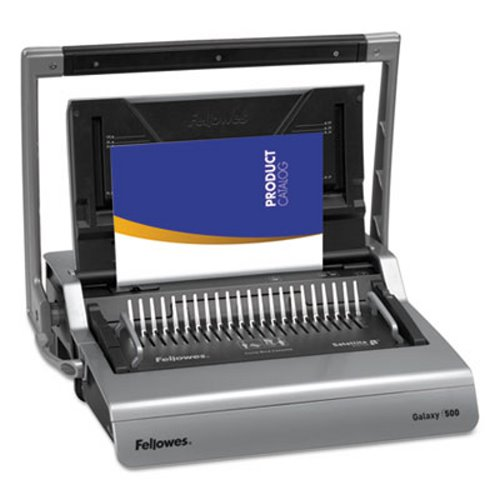 Fellowes Galaxy Comb Binding System, 500 SHeets, Gray (FEL5218201) by