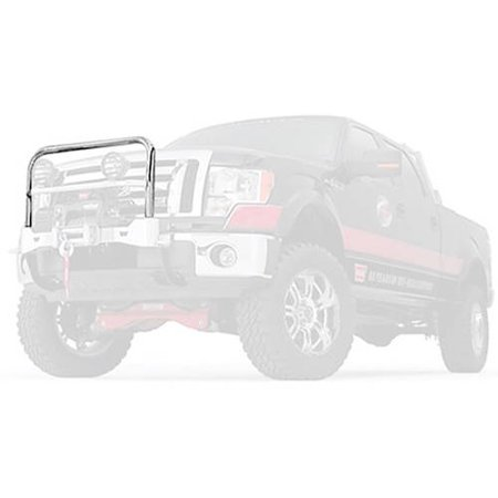 09-C F150 Grill Guard For 80160 Mount Ss Stainless