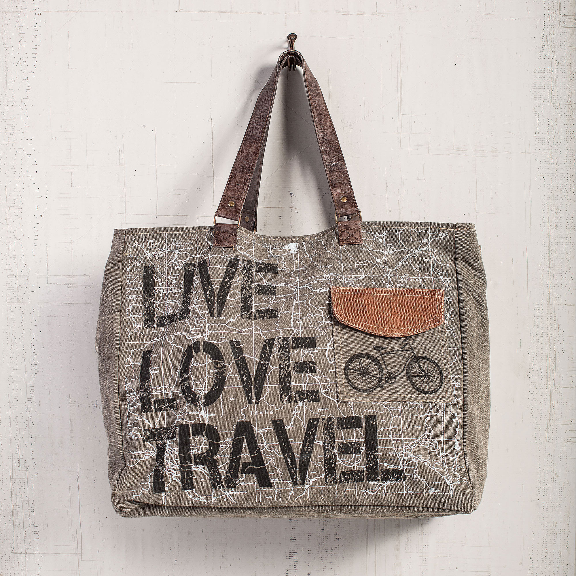Live Love Travel Weekender Bag