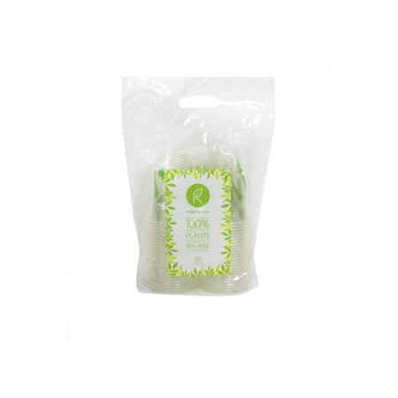100% Compostable Plant Based Clear Cold 16 OZ Cup