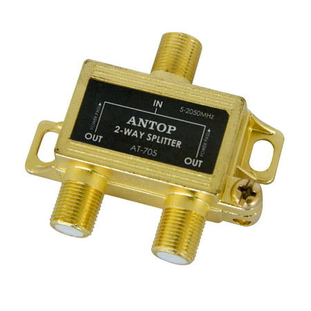 2ghz Rf Splitter 3 Way - ANTOP AT-705 2-way 2GHz RF Splitter