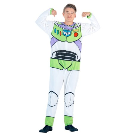 Toy Story Buzz Lightyear Union Suit Costume - Buzz Lightyear Ladies Costume