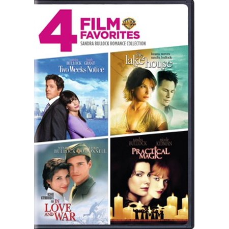4 FILM FAVORITES-SANDRA BULLOCK (DVD/4 DISC/LAKE H/2 WEEKS/PRACTICAL/IN LOV - Sandra Bullock Halloween