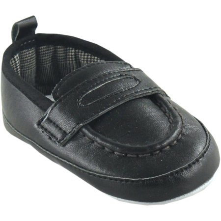 Luvable Friends Newborn Baby Boys Slip-on Shoes - Walmart.com