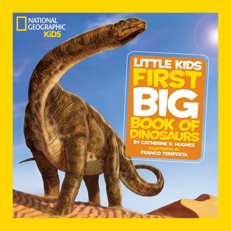 National Geographic Little Kids First Big Book of Dinosaurs (Hardcover) (Childrens Hymn Book)