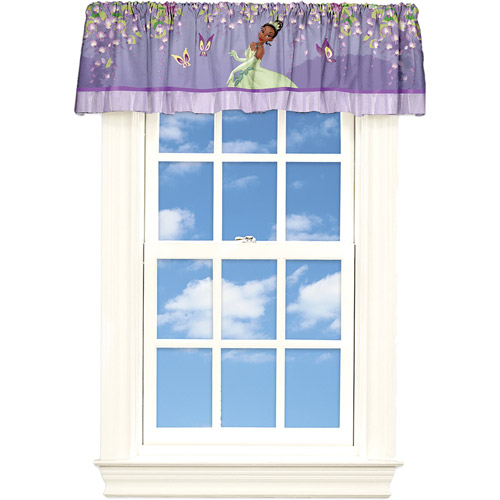 "Disney Princess and the Frog ""Princess Spell"" Poly Satin Valance"