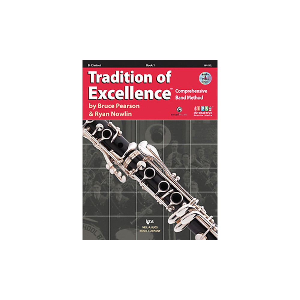 KJOS Tradition Of Excellence Book 1 for Clarinet by KJOS
