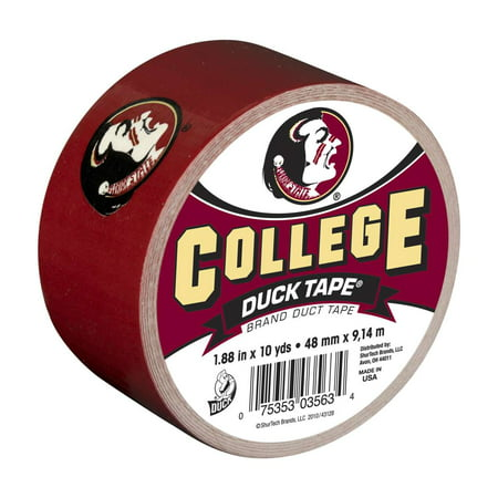 Duck Brand College Logo Duct Tape, 1.88 in. x 10 yds, Florida State