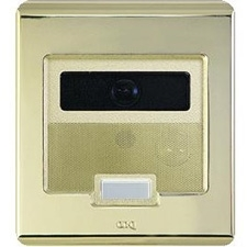Selective Call Intercom Video Door Unit, Antique Brass
