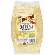 Bob's Red Mill Whole Grain Medium Grind Cornmeal, 48 oz (Pack of 4)