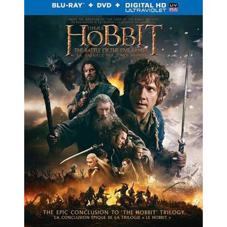 THE HOBBIT: THE BATTLE OF THE FIVE ARMIES [BLU-RAY/DVD]