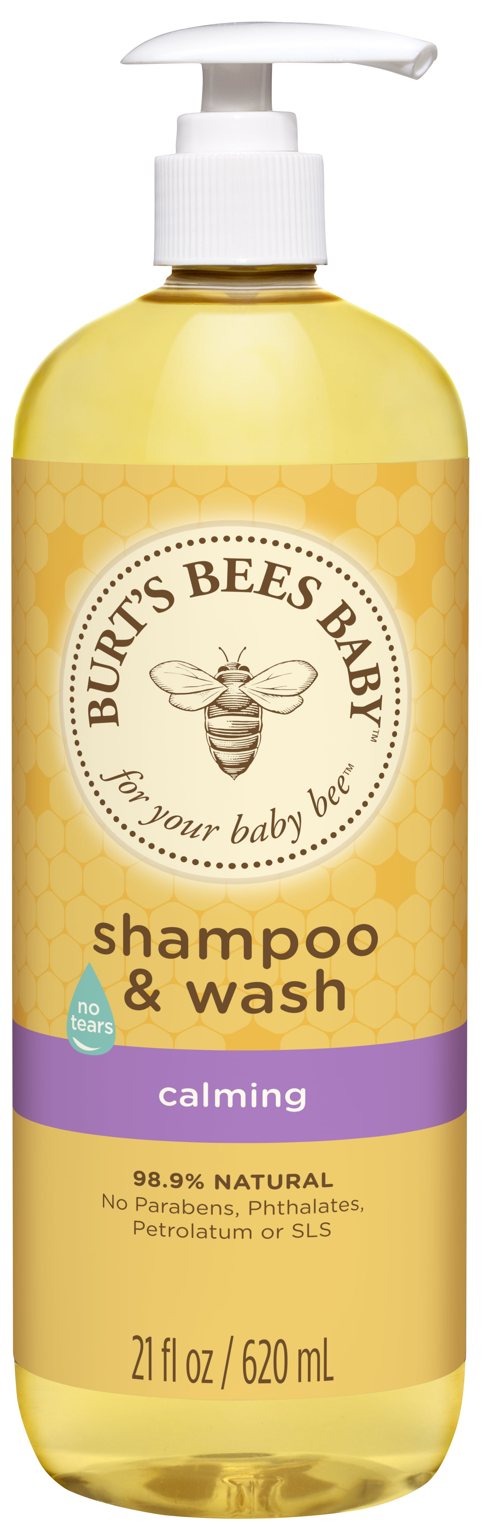 Burt's Bees Baby Shampoo & Wash, Calming Tear Free Baby Soap 21 Ounce Bottle by Burt%27s Bees