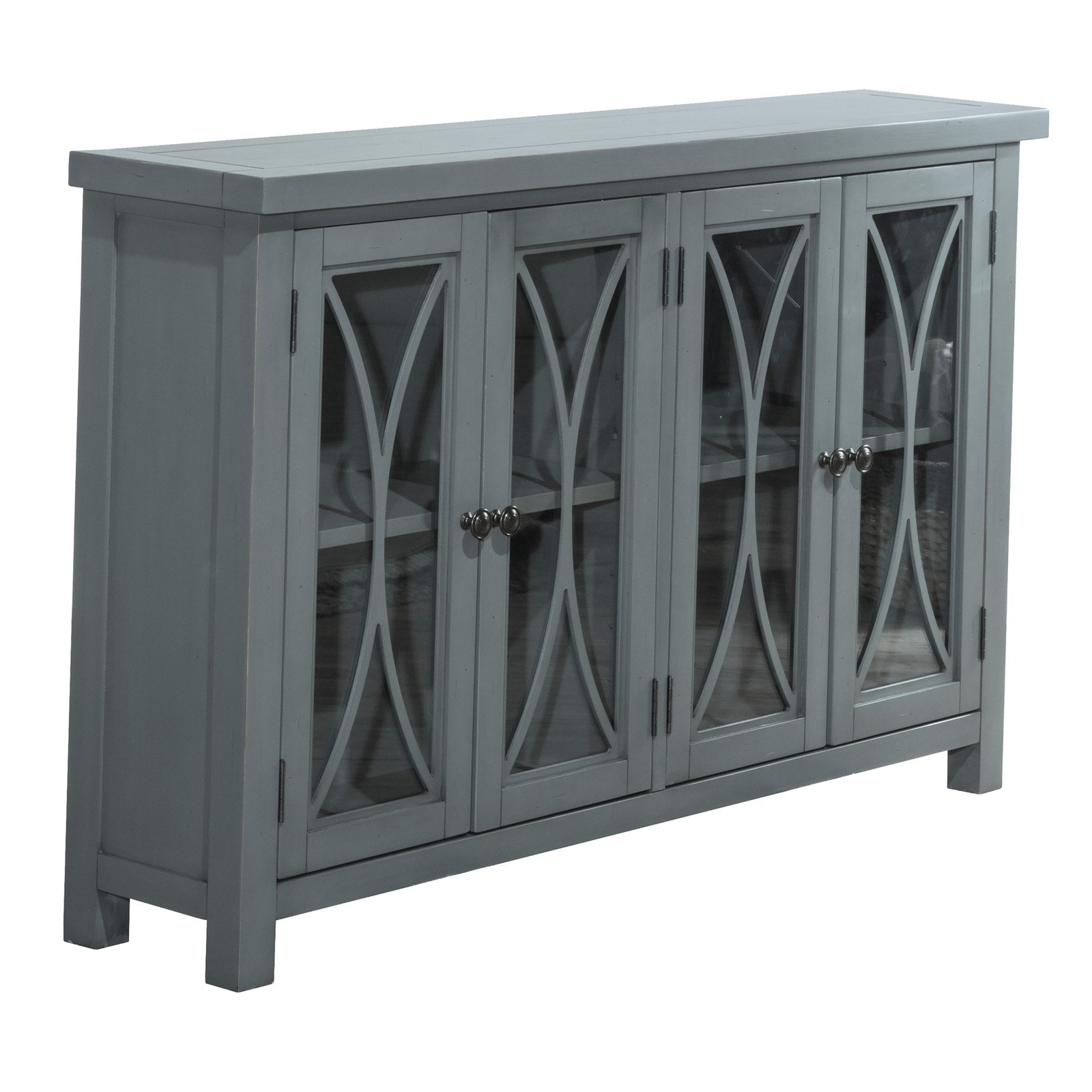 Hillsdale Furniture Bayside Four (4) Door Cabinet, Multiple Finishes by Hillsdale Furniture