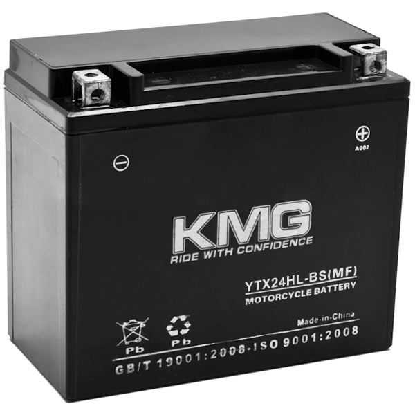 KMG�� YTX24HL-BS Battery For Yamaha 700 VX700XTCD Vmax 700 XTC Deluxe 1998 Sealed Maintenance Free 12V Battery High Performance Replacement Powersport Motorcycle ATV Scooter Snowmobile Watercraft KMG