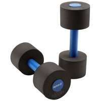 Sporti Aquatic Fitness Light Dumbbells Water Weights