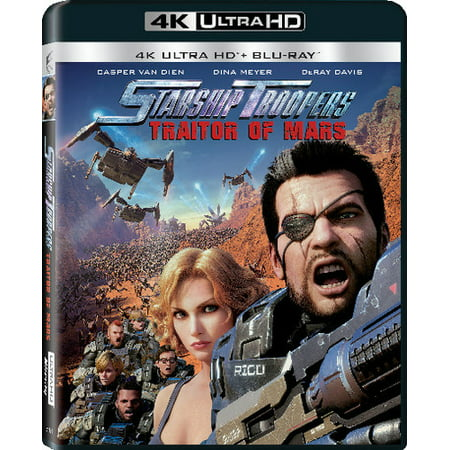 (Starship Troopers: Traitors Of Mars (4K Ultra HD + Blu-ray))