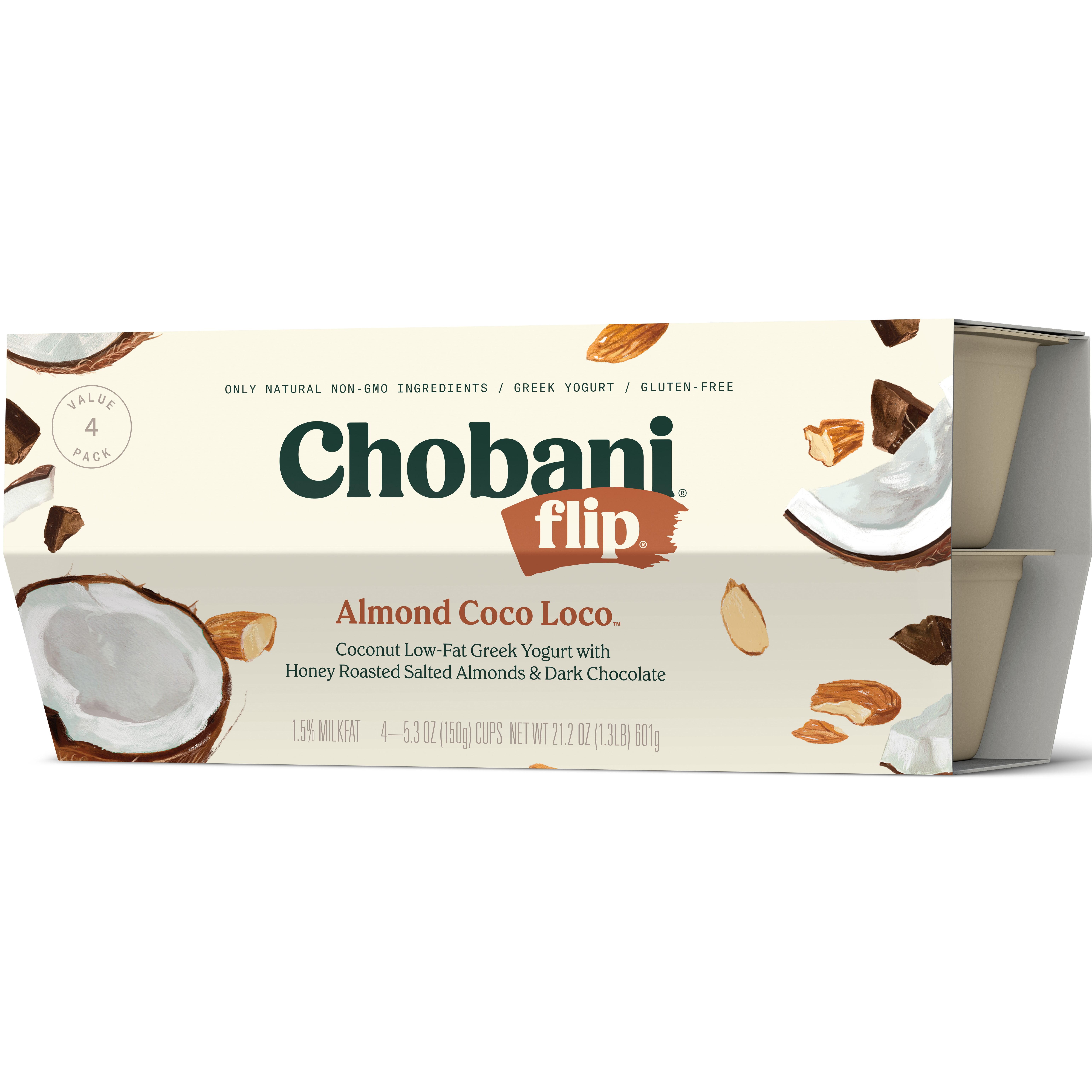 Chobani® Flip® Low-fat Greek Yogurt, Almond Coco Loco 5 ...