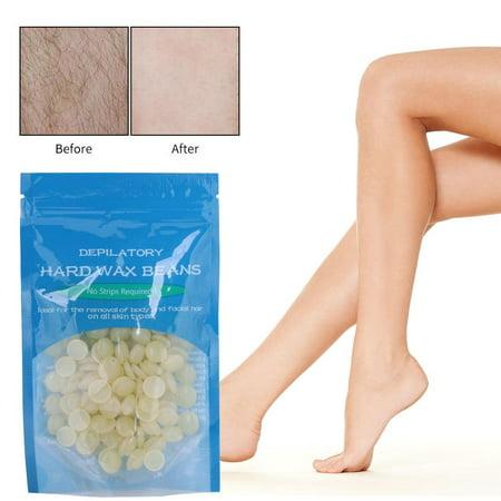 Yosoo 10 Flavors Hair Removal Hard Wax Beans Hard Body Wax Beans For Face Arm Legs Bikini Area 50g/bag, Women and
