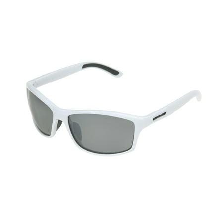 Panama Jack Men's White Wrap Sunglasses (White Gucci Goggles)