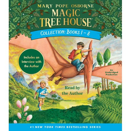 Magic Tree House Collection: Books 1-8 : Dinosaurs Before Dark, the Knight at Dawn, Mummies in the Morning, Pirates Past Noon, Night of the Ninjas, Afternoon on the Amazon, and - Dark Magic Spell Book