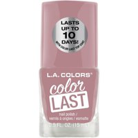 L.A. Colors Color Last Nail Polish, Soft Pink