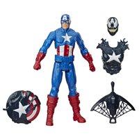Spider-Man Maximum Venom Titan Hero Venomized Captain America