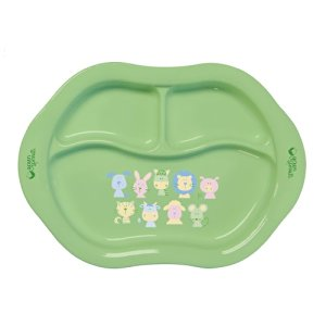 Green Sprouts Cornstarch Divided Plate by Green Sprouts
