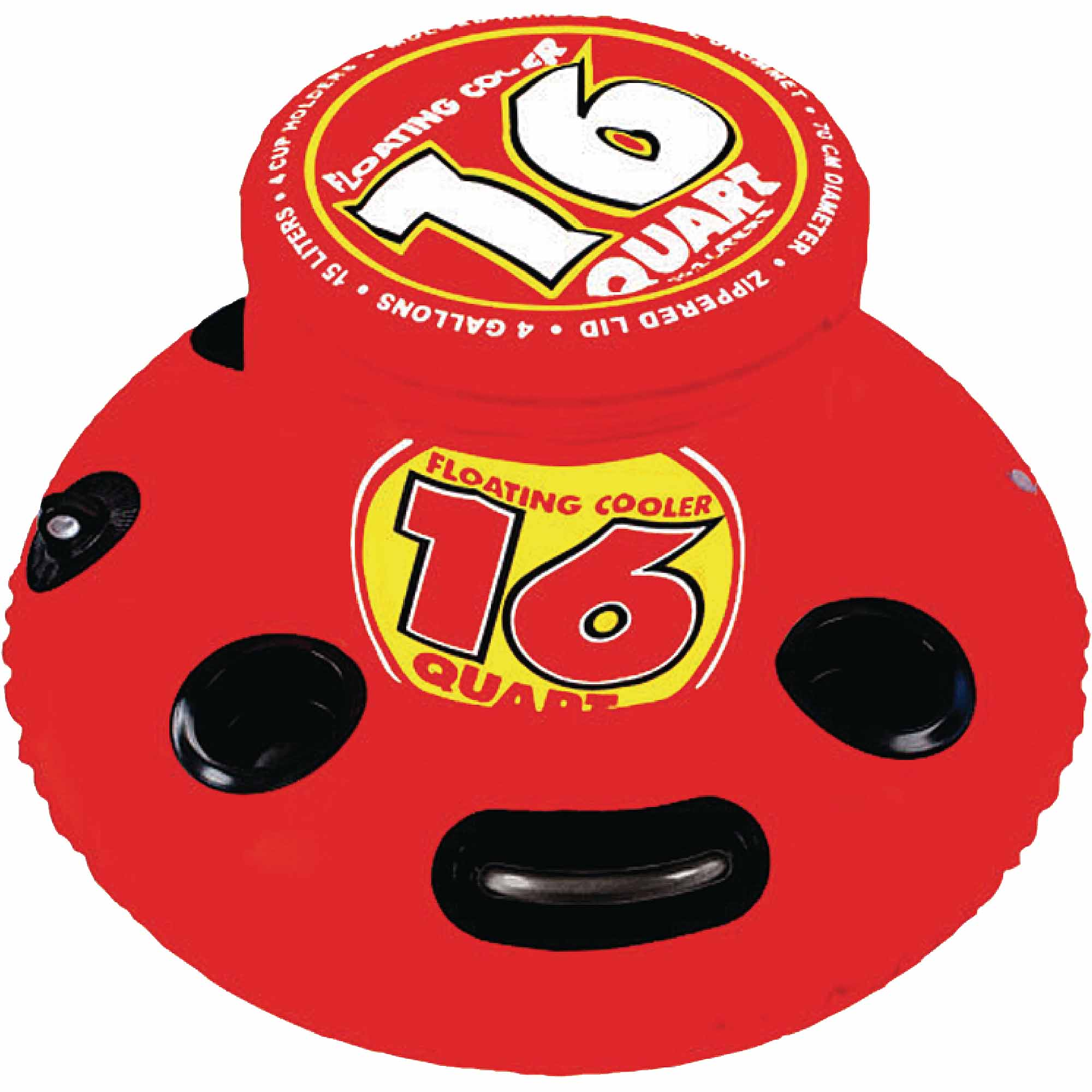 Sportsstuff 16 Quart Inflatable Floating Cooler