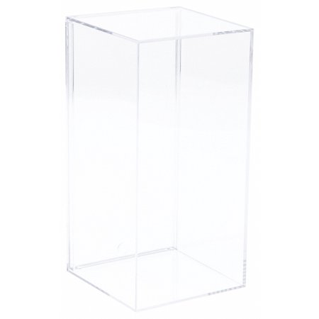Clear Acrylic Display Case (With No Beveled Edge) 3.8125