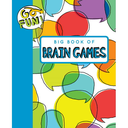 Go Fun! Big Book of Brain Games 2 - Big Brain Toys