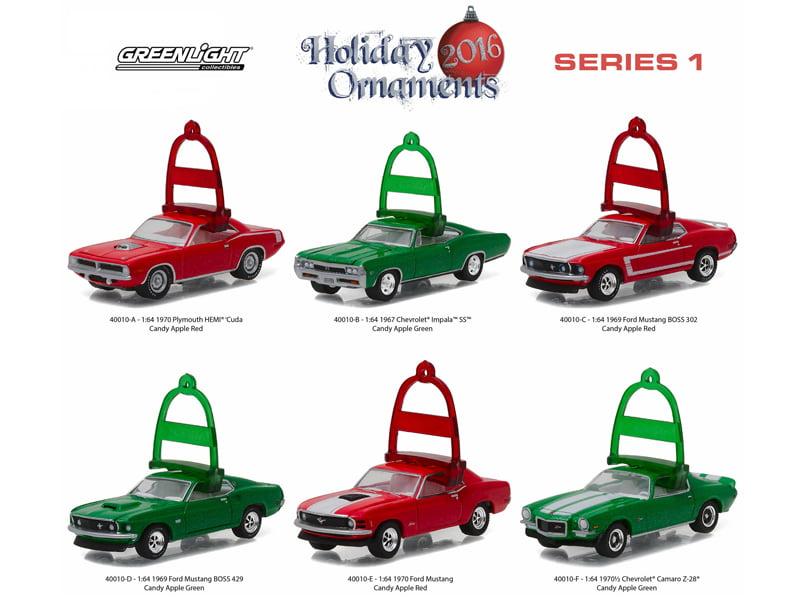 Greenlight  2016 Holiday Ornaments 1967 Chevrolet Impala SS SALE!