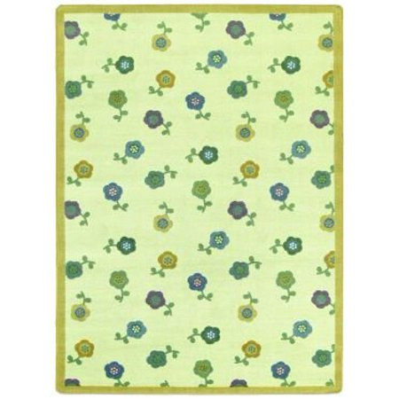 Joy Carpets 1536-02 Awesome Blossom Just for Kids Rug 7-ft 7-in Round