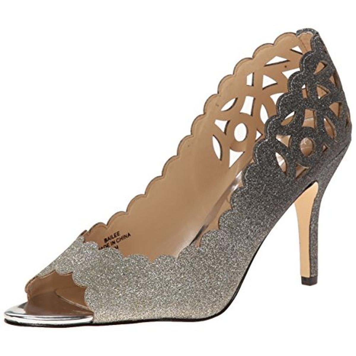J. Renee Womens Bailee Cut-Out Scalloped Pumps by J. Renee